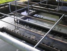 Concrete effluent tanks