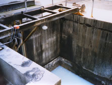 Concrete process tanks