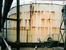 Cylindrical sectional effluent tanks