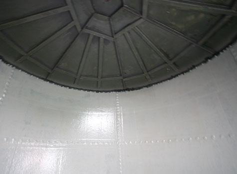 5. Fibreglass lining to match GRP tank cover.