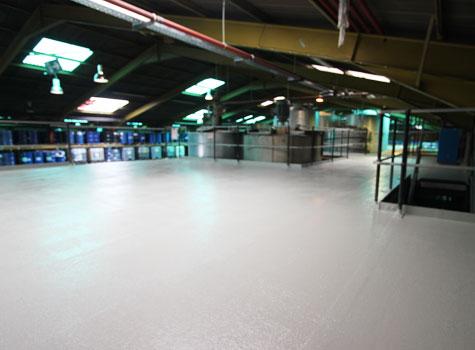 1. GRP floor linings - hardwearing, impact-resistant, last for years.