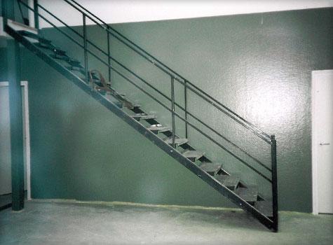7. Food factory fibreglass wall lining.