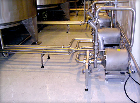 9. Fibreglass floor lining