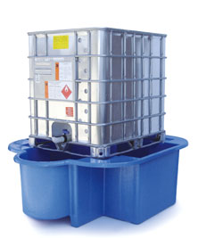 IBC Bund, IBC Spill Pallet or IBC Sump Pallet with drip tray