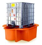 IBC Bund, Spill Pallet orange