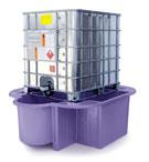 IBC Bund, Spill Pallet purple