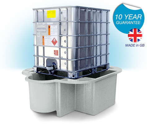 Economy IBC Spill Container with drip tray
