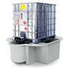 Economy IBC Bund with drip tray