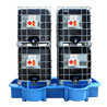 For 4 x 1000 litre IBC, with dispensing facility.
