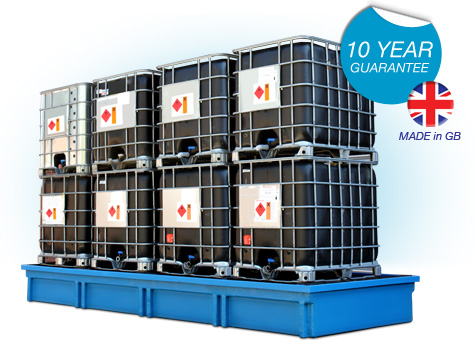 12 x IBC Spill Containment Bundstand SG108