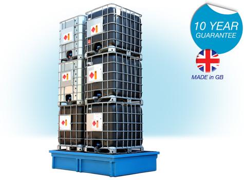 6 x IBC Spill Containment Bund SG106