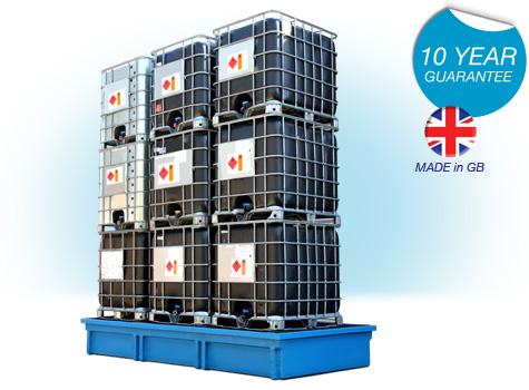 9 x IBC Spill Containment Bund SG107