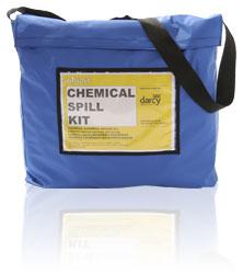 Chemical Spill Kit in Grab Bag