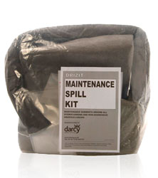Maintenance Absorbent Mini Kit in snap handle bag