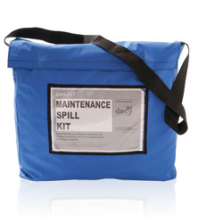 Maintenance Spill Absorbent Kit in grab bag